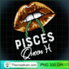 Pisces Queen Lips Sexy Black Afro Queen February March Long Sleeve T Shirt copy