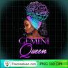 Purple Gemini Queen African American Woman May June T Shirt copy