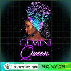 Purple Gemini Queen African American Woman May June PNG, Afro Women PNG, Gemini Queen PNG, Black Women PNG