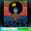 Th Vintage Pisces Birthday Queen Costume Black Woman Long Sleeve T Shirt copy