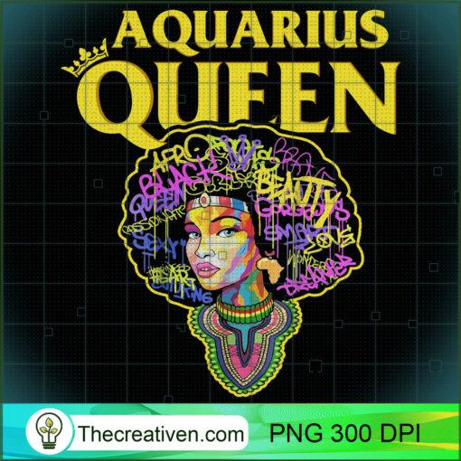 Watercolor Aquarius Queen Zodiac Birthday Long Sleeve T Shirt copy