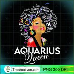 Womens Afro Hair Art Aquarius Queen January 20 February 18 PNG, Afro Women PNG, Aquarius Queen PNG, Black Women PNG