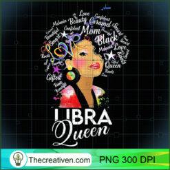 Womens Afro Hair Art Libra Queen September 23 October 22 PNG, Afro Women PNG, Libra Queen PNG, Black Women PNG
