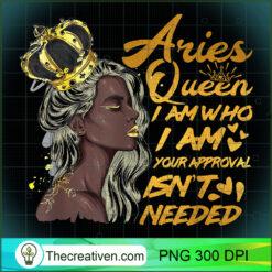 Womens Aries Queen Zodiac Black Women PNG, Afro Women PNG, Aries Queen PNG, Black Women PNG