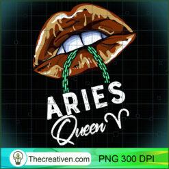 Womens Aries Queen Lips Sexy Black Afro Queen March April Womens PNG, Afro Women PNG, Aries Queen PNG, Black Women PNG