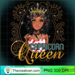 Womens Black Queen Horoscope Zodiac Capricorn PNG, Afro Women PNG, Capricorn Queen PNG, Black Women PNG