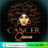 Womens Cancer Queen Zodiac Born In June or July Birthday Gift T Shirt copy