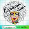 Womens Capricorn Gift Black Women Born In December January Queen Tank Top copy