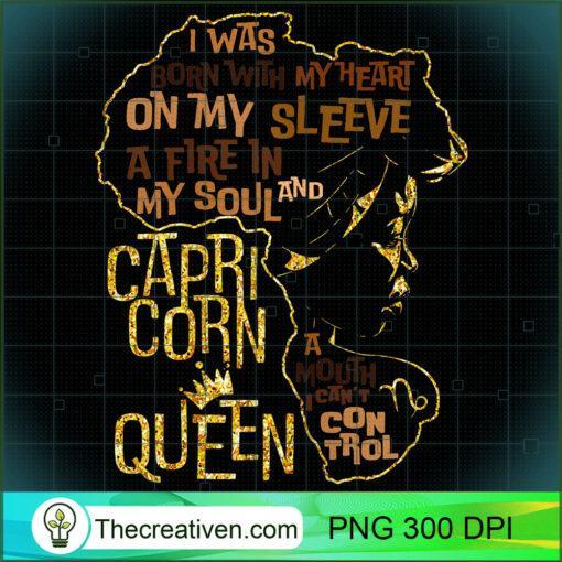 Womens Capricorn Queen Birthday Zodiac Costume Black Women Gift Gir T Shirt copy
