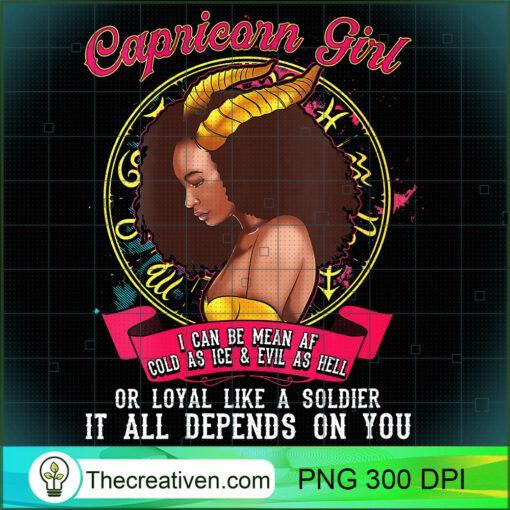 Womens Capricorn Zodiac Birthday Shirt Black Queen Mean AF V Neck T Shirt copy