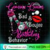 Womens Gemini Queen Bad Boujee Birthday Behavior T Shirt copy
