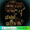 Womens Gemini Queen Birthday Zodiac Costume Black Women Gift Girl T Shirt copy