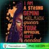 Womens I Am Strong Gemini Melanin Queen Cute Birthday Womens Premium T Shirt copy