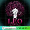 Womens Leo Queen August Birthday Gift For Black Women T Shirt copy