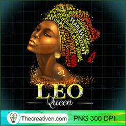 Womens Leo Queen Womens Symbol Zodiac Afro PNG, Afro Women PNG, Leo Queen PNG, Black Women PNG