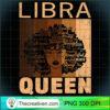 Womens Libra Queen Afro Birthday Melanin Black African American Tank Top copy