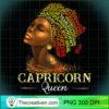 Womens Natural Capricorn Queen Womens Birth Date Zodiac Birthday T Shirt copy