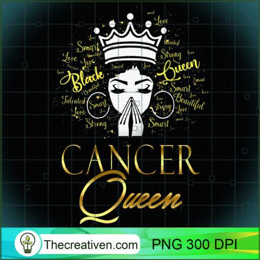 Womens Praying Cancer Queen Black Lives Matter zodiac Birthday Girl T Shirt copy