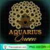 Zodiac Birthday Aquarius Queen T Shirt copy