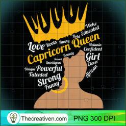 Zodiac January Capricorn Queen December PNG, Afro Women PNG, Capricorn Queen PNG, Black Women PNG