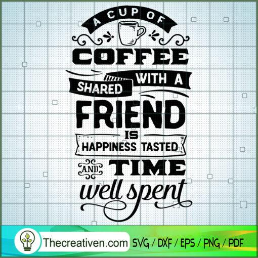 a cup of coffee shared copy