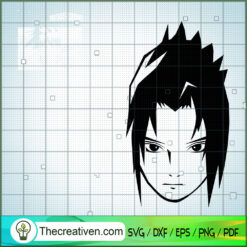 Sasuke and My Hero Academy  SVG, My Hero Academy SVG, Anime SVG