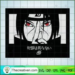 Itachi Naruto SVG, Naruto SVG, Anime SVG