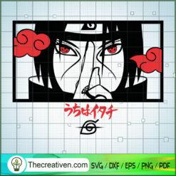 Itachi Naruto Cool SVG, Naruto SVG, Anime SVG