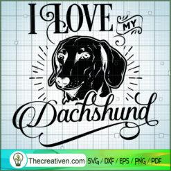 Dachshund SVG Free, Dog Pet SVG Free, Free SVG For Cricut Silhouette
