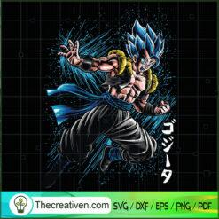 Super Saiyan Yahhhh SVG, Goku SVG, Dragon Ball Z SVG