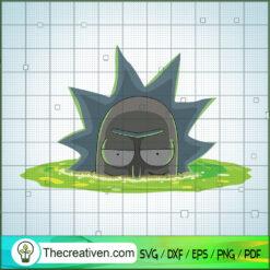 Rick Sanchez In Poison SVG, Ricks And Morty SVG, Cartoon Movie SVG