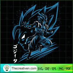 Songota in mind Songota Head SVG, Dragon Ball SVG, Goku SVG