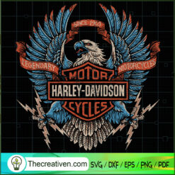 Logo Harley-Davidson SVG, Harley-Davidson SVG, Motorcyle SVG