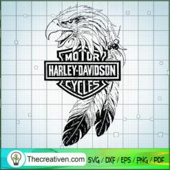 Harley-Davidson Logo Eagle Bird SVG, Harley-Davidson SVG, Motorcyle SVG