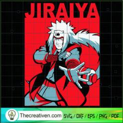 Jiraiya SVG , Naruto SVG, Anime SVG