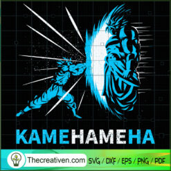 Goku Kamehameha SVG, Goku SVG, Dragon Ball Z SVG