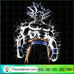 Goku Ultra Instinct Sign SVG, Goku SVG, Dragon Ball Z SVG