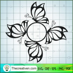 Butterfly Vol 7 SVG Free, Butterfly SVG Free, Free SVG For Cricut Silhouette