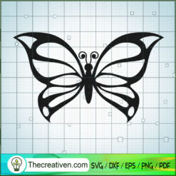 Butterfly Vol 2 SVG Free, Butterfly SVG Free, Free SVG For Cricut Silhouette