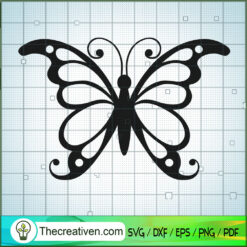 Butterfly Vol 3 SVG Free, Butterfly SVG Free, Free SVG For Cricut Silhouette