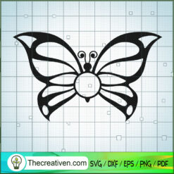 Butterfly Vol 4 SVG Free, Butterfly SVG Free, Free SVG For Cricut Silhouette