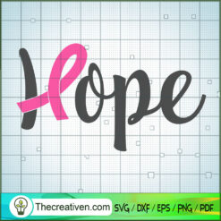 Hope Cancer SVG Free, Cancer SVG Free, Free SVG For Cricut Silhouette