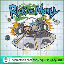 Funko Rick And Morty SVG, Rick And Morty SVG, Cartoon Movie SVG