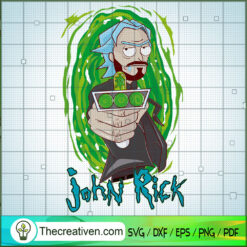 John Rick SVG, Rick and Morty SVG , Cartoon Movie SVG