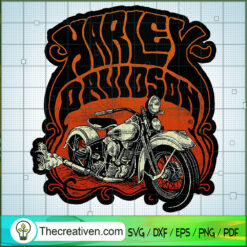 Harley Davidson Iron SVG, Harley Davidson SVG, Legendary Motorcyles SVG
