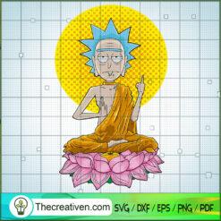 Rick Buda SVG, Rick and Morty SVG , Cartoon Movie SVG