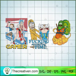 Rick And Morty Game SVG, Rick and Morty SVG , Cartoon Movie SVG