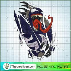 Venom Tear SVG, Venom SVG, Marvel SVG