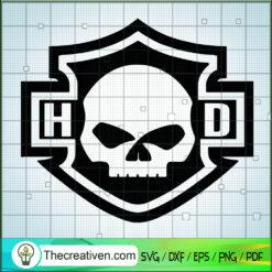 Harley Logo SVG, Motorcyles SVG, Skull Logo SVG