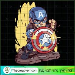 Captain America SVG, Avengers SVG, Marvel SVG